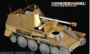 PE35199 Набор фототравления для 1/35 WWII German Marder III Ausf.M Initial Production Upper Hull (For DRAGON 6464)