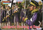 72169ST Фигуры Landwehr Standing at Ease 1/72 Strelets, 1/72
