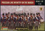 72174ST Фигуры Prussian Line Infantry on the March 1/72 Strelets, 1/72