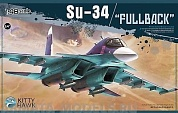 KH80141 Самолет Russian Su-34 FullBack (KITTY HAWK) 1/48