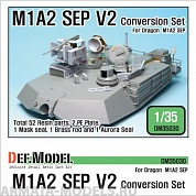 DM35030 Дополнение для моделей M1A2 SEP V2 Conversion set (for Dragon 1/35)