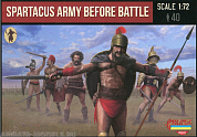 72M110ST Фигуры Spartacus Army Before Battle 1/72 Strelets, 1/72