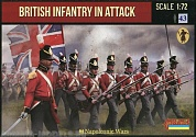 72145ST Фигуры Napoleonic British Infantry in Attack 1/72